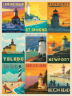 Lighthouses by Anderson Design Group 1000-Piece Puzzle Cover Image