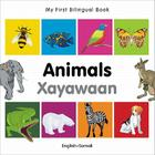 My First Bilingual Book–Animals (English–Somali) Cover Image
