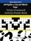 ANTIQUES & COLLECTIBLES Rugs Trivia Crossword Activity Puzzle Book Cover Image