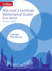 Collins AQA Core Maths: Level 3 Mathematical Studies Student Book Cover Image