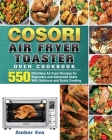COSORI Air Fryer Toaster Oven Cookbook Cover Image