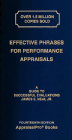 Effective Phrases for Performance Appraisals: A Guide to Successful Evaluations [With Book(s)] Cover Image
