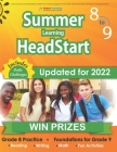 Lumos Summer Learning HeadStart, Grade 8 to 9: Includes Engaging Activities, Math, Reading, Vocabulary, Writing and Language Practice: Standards-align Cover Image