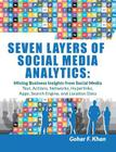 Seven Layers of Social Media Analytics: Mining Business Insights from Social Media Text, Actions, Networks, Hyperlinks, Apps, Search Engine, and Locat Cover Image