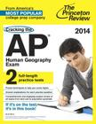 Cracking the AP Human Geography Exam Cover Image