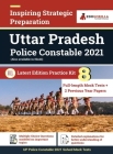 Uttar Pradesh Police Constable Exam 2021 (Vol. 1) 8 Full-length Mock Tests with 2 Previous Year Paper Preparation Kit for UP Police Constable By EduGo Cover Image