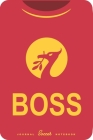 Boss: Soccer Notebook for Football fans Cover Image