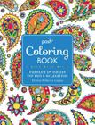Posh Adult Coloring Book: Paisley Designs for Fun & Relaxation (Posh Coloring Books #10) Cover Image