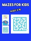Mazes for Kids Ages 3-10: Christmas play and activity book for girls and boys Cover Image