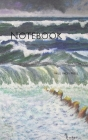 Notebook: sea painting image art paint color artistically artist artwork Cover Image