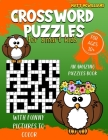 Crossword Puzzles for Smart Kids: An Amazing Puzzles Book With Funny Pictures To Color For Ages 10+ Cover Image