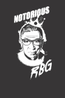 Notebook: Notorious RBG Ruth Bader Ginsburg Court Dot Grid 6x9 120 Pages Cover Image