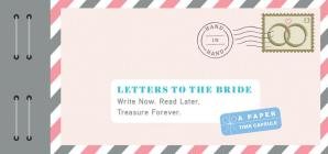 Letters to the Bride: Write Now. Read Later. Treasure Forever. Cover Image