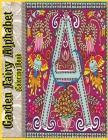 Garden Fairy Alphabet Coloring Book: Adult Coloring Book Creative Haven Magical Fairies Coloring Book Cover Image