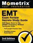 EMT Exam Review Secrets Study Guide - EMT Basic Book for the NREMT Emergency Medical Technician Exam, Full-Length Practice Test, Detailed Answer Expla Cover Image