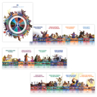 The Gospel Project for Kids: Giant Timeline and Big Story Circle, 1: Cycle 4 (2021-2024) Cover Image