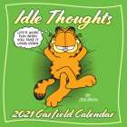 Garfield 2021 Wall Calendar: Idle Thoughts Cover Image