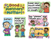 Good Manners Matter Mini Bulletin Board Set Cover Image