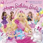 Happy Birthday, Barbie! [With 8 Party Invitations and Poster and 4 Punch-Out Tiaras] Cover Image