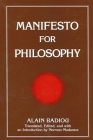 Manifesto for Philosophy (Suny Series) Cover Image