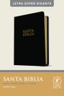 Santa Biblia Ntv, Letra Súper Gigante (Letra Roja, Sentipiel, Negro) Cover Image