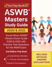 ASWB Masters Study Guide 2020 and 2021: Social Work ASWB Masters Exam Guide 2020 and 2021 with Practice Test Questions for the MSW Exam [2nd Edition P Cover Image