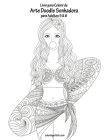 Livro para Colorir de Arte Doodle Sonhadora para Adultos 5 & 6 Cover Image