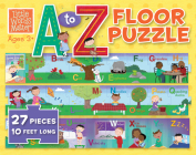 Little Words Matter A to Z Floor Puzzle Cover Image
