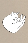 Notes: A Blank Sheet Music Notebook with Snoozing Cat Cover Art Cover Image