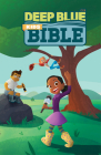 Ceb Deep Blue Kids Bible Wilderness Trail Hardcover Cover Image