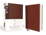 Nasb, Journal the Word Reference Bible, Leathersoft Over Board, Brown, Red Letter Edition, 1995 Text, Comfort Print: Let Scripture Explain Scripture. Cover Image