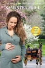 A Baby For Florence LARGE PRINT: Amish Romance Cover Image