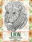 Coloring Books for Adults Relaxation Beginner - Animal - Lion Cover Image