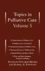 Topics in Palliative Care: Volume 5 Cover Image
