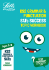 Letts KS2 Revision Success – KS2 English Grammar and Punctuation Age 7-9 SATs Practice Workbook Cover Image