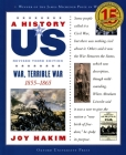 A History of Us: War, Terrible War: 1855-1865 a History of Us Book Six Cover Image