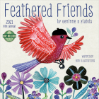 Feathered Friends 2021 Mini Calendar: Watercolor Bird Illustrations Cover Image