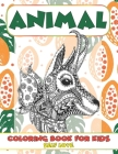 Self Love Coloring Book for Kids - Animal Cover Image
