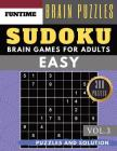 SUDOKU Easy: Huge 300 easy sudoku with answers brain games for adults Activities Book sudoku for seniors (sudoku book easy Vol.3) Cover Image