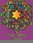 Stress Relieving Mandala: Designs For Kids And Adults Cover Image