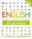 English for Everyone: Nivel 3: Intermedio, Libro de Estudio: Curso Completo de Autoaprendizaje Cover Image