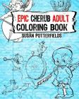 Epic Cherub Adult Coloring Book Cover Image