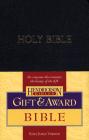 Gift & Award Bible-KJV Cover Image