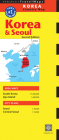 Periplus: Korea & Seoul Country Map (Periplus Travel Maps) Cover Image