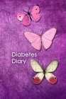 Diabetes Diary: 2 Year Diabetic Diary. Professional Design and Layout -- Daily Record of your Blood Sugar Levels (before & after meals Cover Image