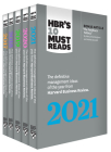 5 Years of Must Reads from Hbr: 2021 Edition (5 Books) (HBR's 10 Must Reads) Cover Image