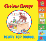 Curious George Ready for School (tabbed board book) Cover Image
