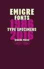 Emigre Fonts: Type Specimens 1986-2016 Cover Image