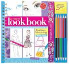 My Fabulous Look Book: Fashion Drawing Made Easy [With Paper Frames and 5 Colored Pencils] Cover Image