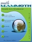 Math Mammoth Grade 6-A Worktext Cover Image